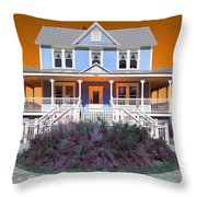 Valentine House Throw Pillow