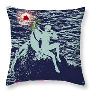 Valentine Poster Throw Pillow