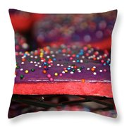 Valentine Treats Scratch Made Throw Pillow