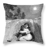 Valentines Day, 1811 Throw Pillow