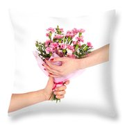 Valentine's Day Gift Throw Pillow