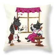 Valentines Day Macduf Throw Pillow