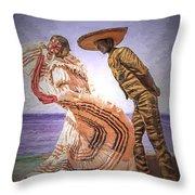 Vallarta Dancers Throw Pillow