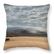 Valley Clouds Throw Pillow
