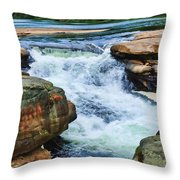 Valley Falls Throw Pillow