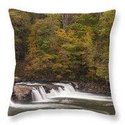 Valley Falls Scene 1 Throw Pillow