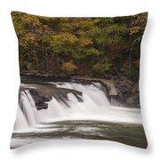 Valley Falls Scene 2 Throw Pillow