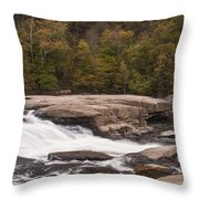 Valley Falls Scene 4 Throw Pillow