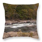 Valley Falls Scene 5 Throw Pillow