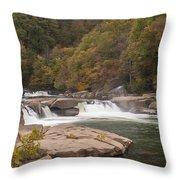Valley Falls Scene 7 Throw Pillow