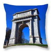 Valley Forge Glory Throw Pillow