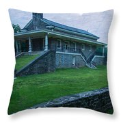 Valley Forge Station Throw Pillow