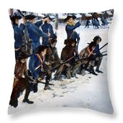 Valley Forge: Steuben, 1778 Throw Pillow