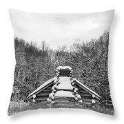 Valley Forge Winter 13  Per Request Throw Pillow