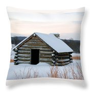 Valley Forge Winter 2 Throw Pillow