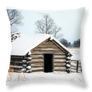 Valley Forge Winter 3 Throw Pillow