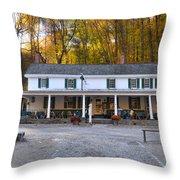 Valley Green Inn - Forbidden Drive Throw Pillow