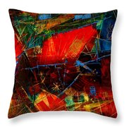 Valley  In  Provence Throw Pillow