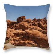 Valley Of Fire 1 Throw Pillow