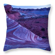Valley Of Fire - Fire Wave 2 - Nevada Throw Pillow