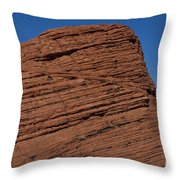 Valley Of Fire State Park Nevada Throw Pillow