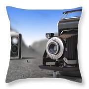 Valley Of The Fallen II Throw Pillow by Mike McGlothlen