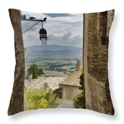 Valley View - Assisi Throw Pillow