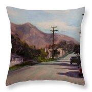 Valmont Throw Pillow by Athena Mantle