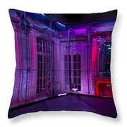 Vampire's Ballroom Throw Pillow