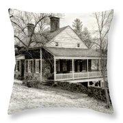 Van Cortlandt Manor Throw Pillow