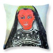 Van Dongen's Saida Throw Pillow