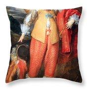 Van Dyck's Henri II De Lorraine Throw Pillow