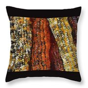 Van Gogh Corn Throw Pillow
