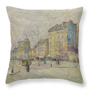 Van Gogh De Clichy, 1887 Throw Pillow