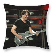 Van Halen-7394b Throw Pillow