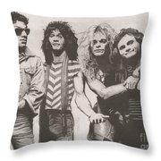 Van Halen Throw Pillow