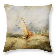 Van Tromp Going About To Please His Masters Throw Pillow