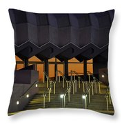 Van Wezel Performimg Arts Hall Stage Door Sarasota Fl Usa Throw Pillow