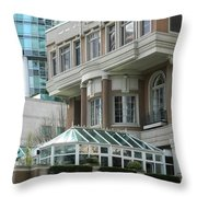 Vancouver Architectural Heritage Throw Pillow