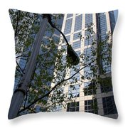 Vancouver Architecture 1 Throw Pillow