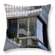 Vancouver Architecture 4 Throw Pillow