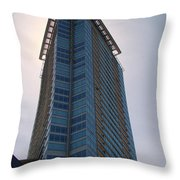 Vancouver Architecture 5 Throw Pillow