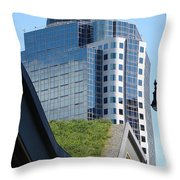Vancouver Architecture 6 Throw Pillow