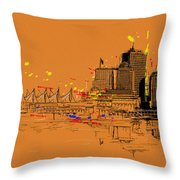 Vancouver Art 006 Throw Pillow