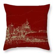 Vancouver Art 007 Throw Pillow
