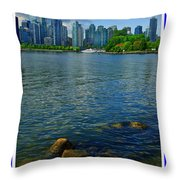 Vancouver IIi Throw Pillow