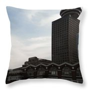 Vancouver Scape Throw Pillow