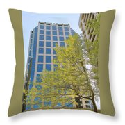 Vancouver Silhouettes No 1 Throw Pillow