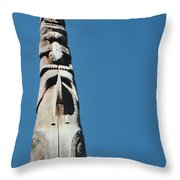 Vancouver Totem By Jrr Throw Pillow