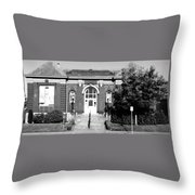 Vancouver's First Library Turned Museum Throw Pillow